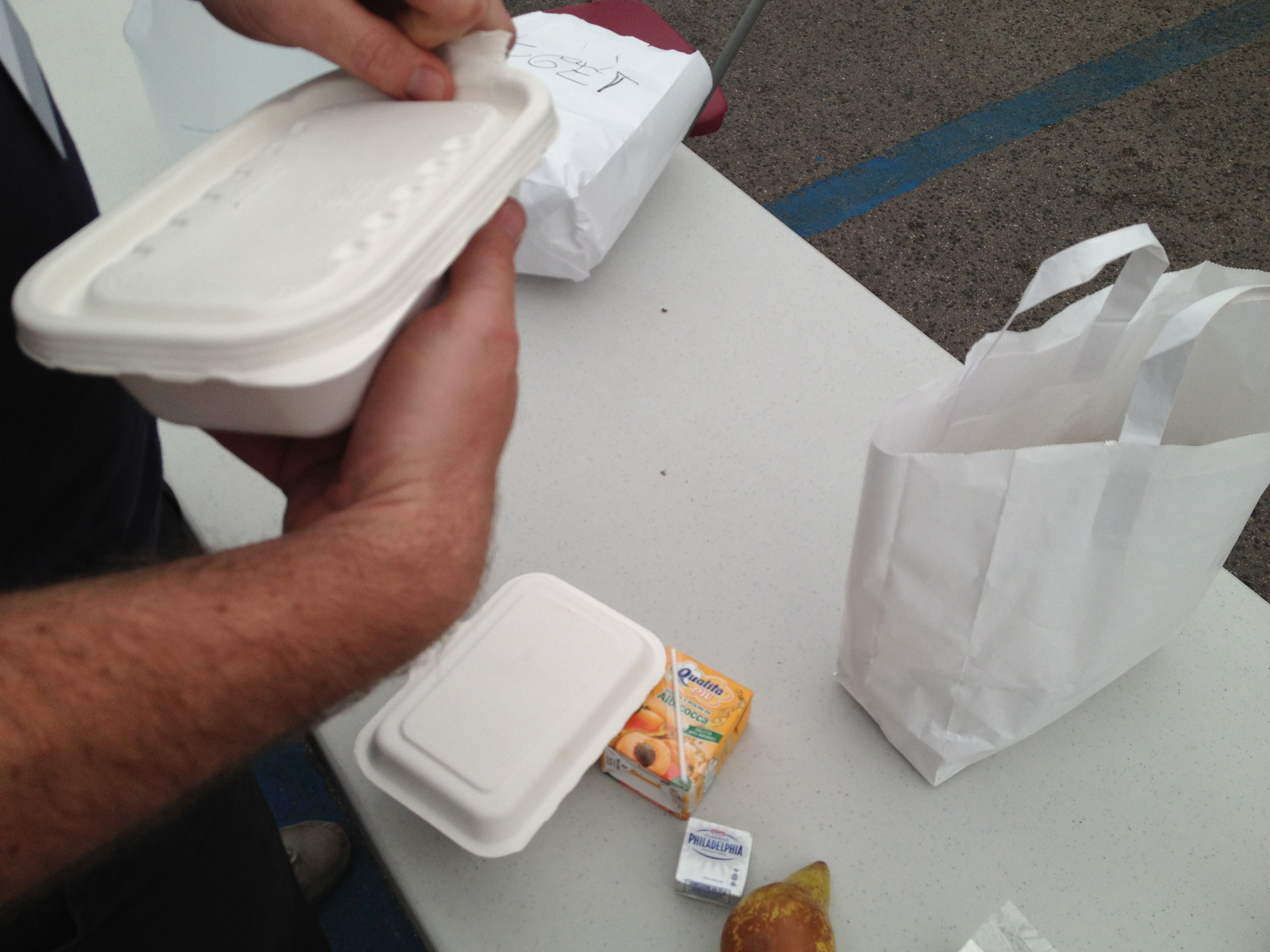 Biodegradable lunches