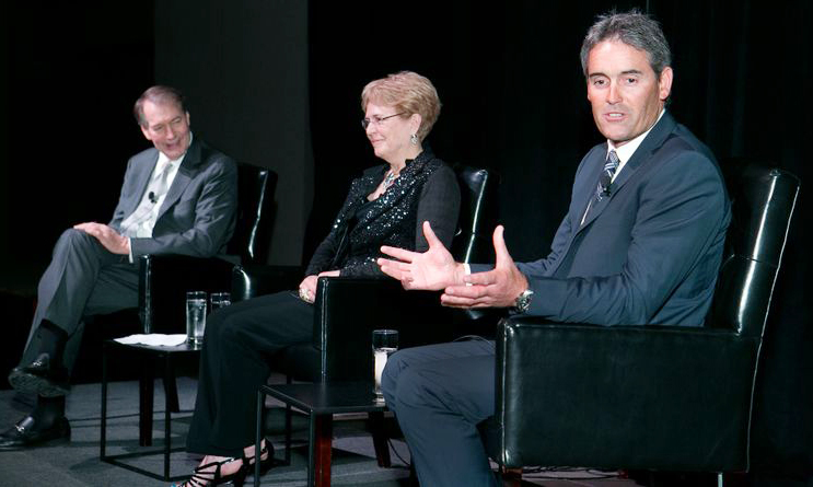 Charlie Rose interviews Dr. Jane Lubchenco and Sir Russell Coutts