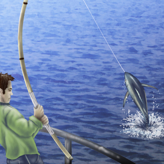Seafood watch sailors for the sea for Tuna fishing pole