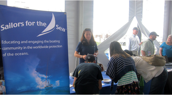 Sailors for the Sea at an event