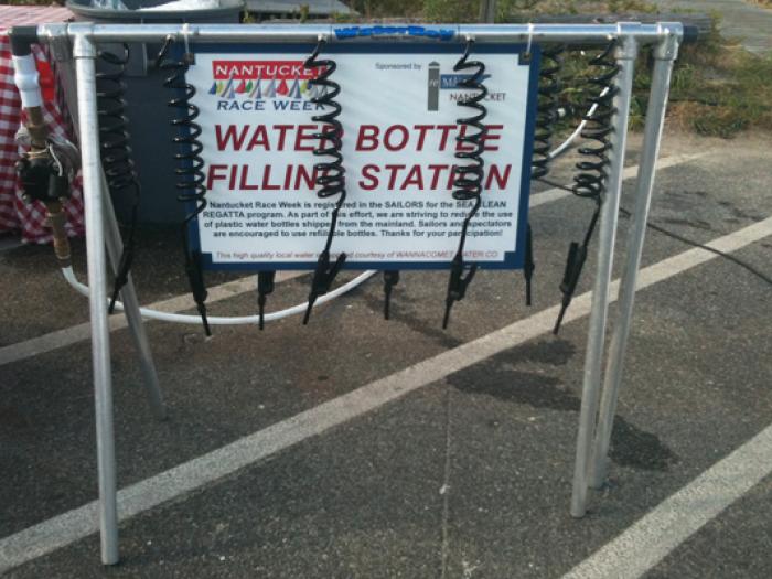 Water Station at Regatta