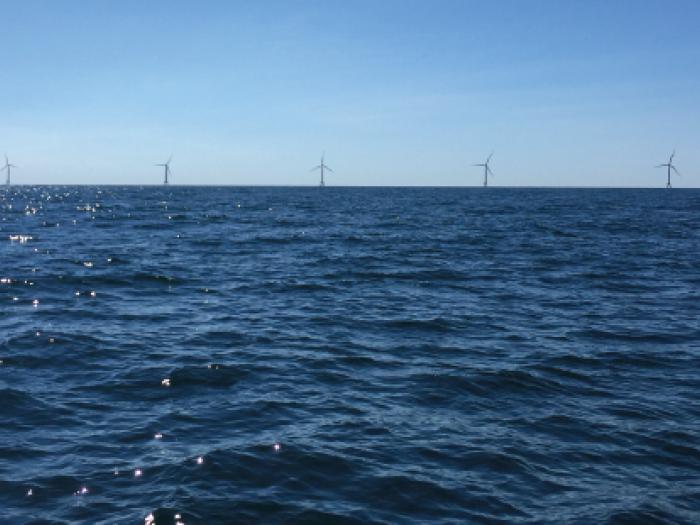 wind turbine, wind farm, offshore wind, renewable energy, block island