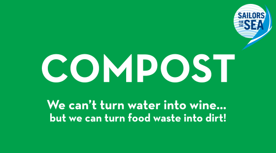 compost sign, free compost sign, composting sign for regattas