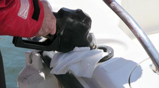 Fuel Absorbent rag