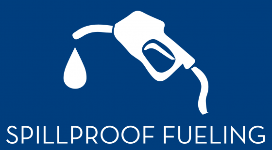 spill proof fueling