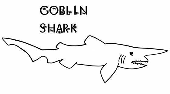 goblin shark coloring pages - photo#4
