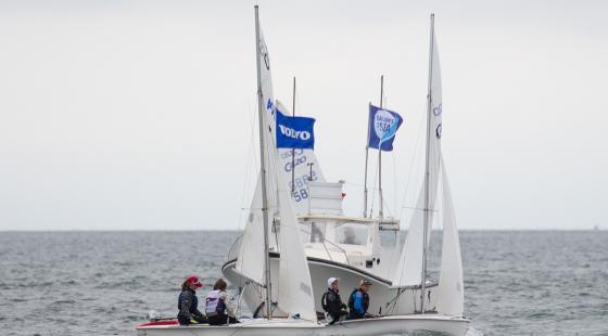 Secor Volvo Fishers Island Sound Race, junior sailing, platinum, clean regatta