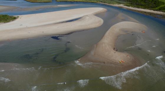 Narrow River, Rhode Island, Erosion