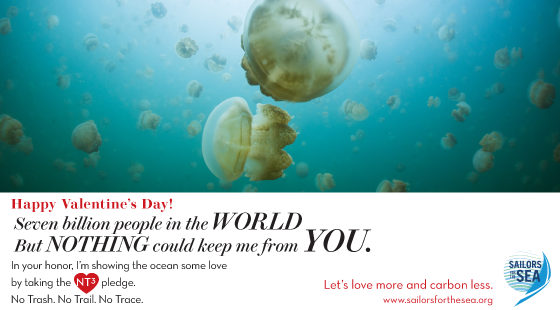 Valentine's Day e-card, jellyfish, people, world, you
