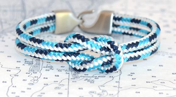 Sailors for the Sea lemon and line bracelet