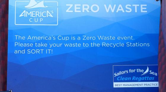 34th America's Cup - a zero waste event