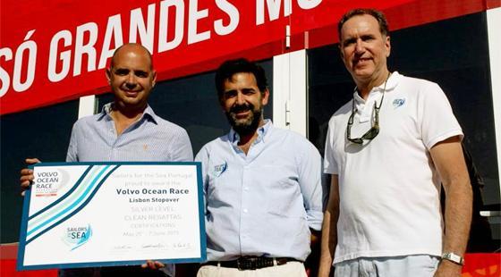 Volvo Ocean Race Lisbon, Clean Regatta, José Pedro Amaral, Bernardo Correa De Barros, R. Mark Davis