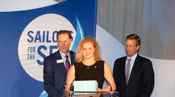 damy steward, youth award for ocean conservation, us sailing, R. Mark Davis, Jack Gierhart