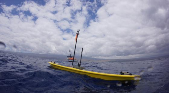 Liquid Robotics, Seagoing Robot, Wave Glider, Water Robot, Ocean Robot, Fishery Monitoring