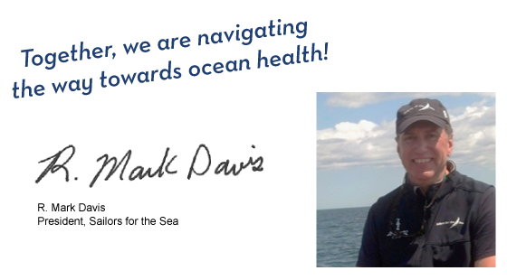 together we are navigating the way towards ocean health