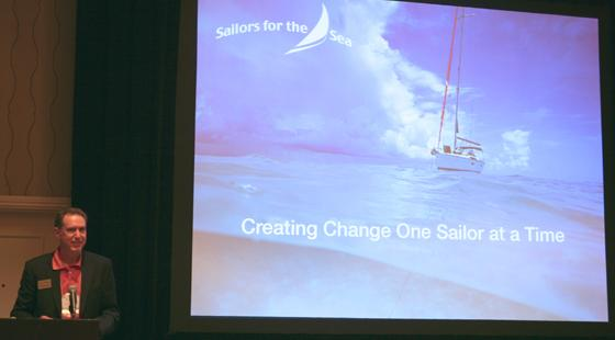 Mark Davis at US Sailing Leadership Forum