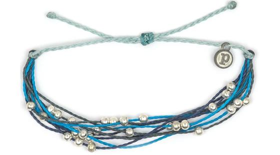 Pura Vida Sailors for the Sea platinum bracelet