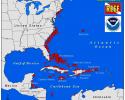 Distribution of Lionfish in the Atlantic Ocean