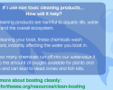 Why non toxic cleaning products help the ocean