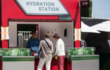 Hydration Station at the America's Cup
