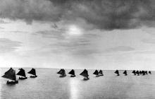 Sailing and fishing off Flounder Flats Alaska