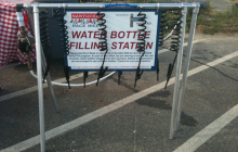 Water Station at Regatta