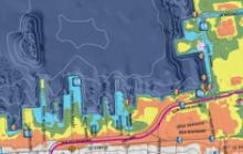 Downtown Newport Flood Map