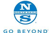 North Sails logo, go beyond, north sails
