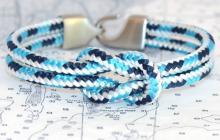 Sailors for the Sea lemon and line bracelet