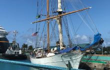 tall ship, marine science, onboard reporter