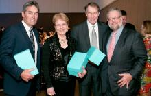 Russell Coutts, Jane Lubechenco. Charlie Rose, snf David Rockefeller, Jr.