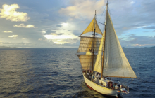 Caribbean, tall ship, marine science