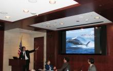 Tyson Bottenus at Congressional Briefing
