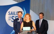 damy steward, youth award for ocean conservation, us sailing, R. Mark Davis, Jack Gierhart